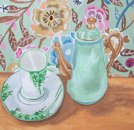 Green Tea Giclee print