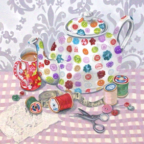 Button Teapot