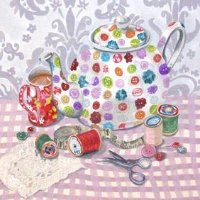 Button Teapot