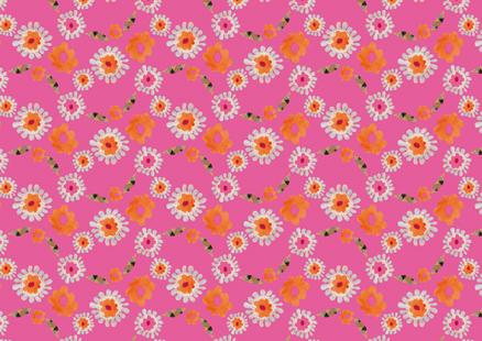 Little Flowerhead – pink