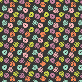 Hexagon flower