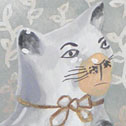 Close up detail of Snooty Cats