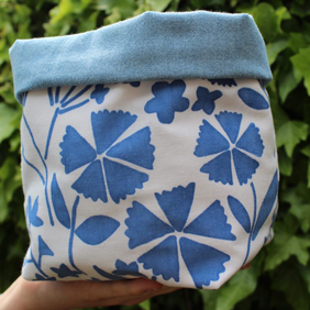 Blue Winterbourne Garden, Fabric Box