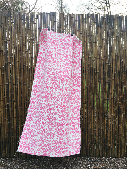 Dianthus Fabric length