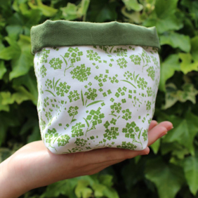 Green Alyssum, Soft Storage Box