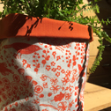 Close up detail of Winterbourne Hedgerow, fabric box