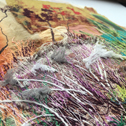 Close up detail of Stitchscape
