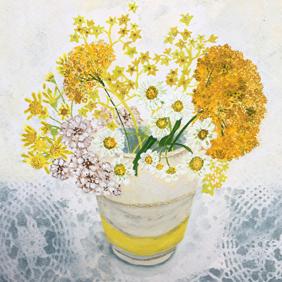 Yellow Pickings: original painting